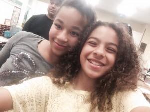 Mackenzie and Aliyah